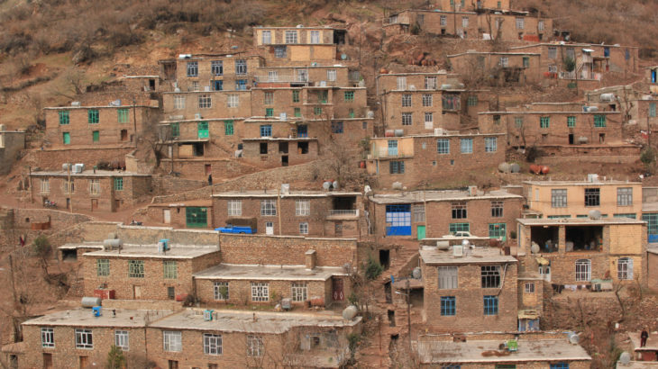 [イラン] クルディスタン州 絶景の村々を訪れて