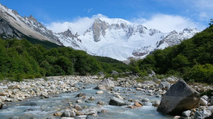 [チリ] パタゴニア サン・ロレンソ牧場で働きながら絶景の氷河や山岳風景を訪れる