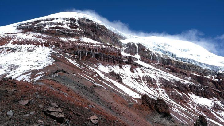 [エクアドル] リオバンバにて世界で一番高い山?チンボラソ火山に登る