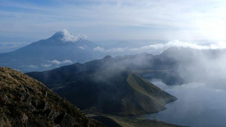 [エクアドル] オタバロでトレッキング ラグーナ・モハンダとフヤフヤ山(4279m)