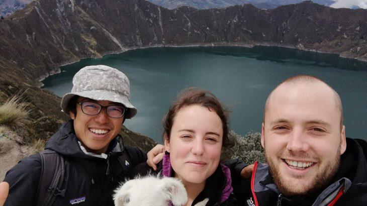 [エクアドル] 火山大国エクアドル 絶景のカルデラ湖キロトアへ