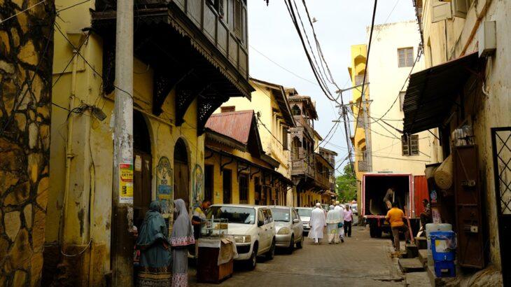 [ケニア] 東アフリカ海岸沿い インド洋へやってきた! 歴史感じる旧市街と美しいビーチのモンバサ